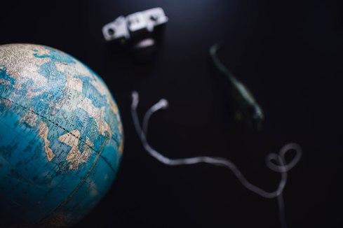 Globe camera